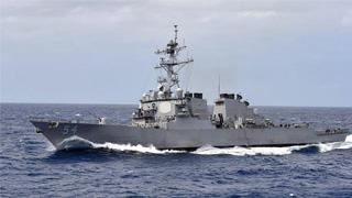国防部回应美舰过航台湾海峡:全程都在掌控之中