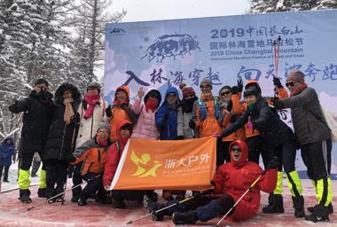 視頻 | 長白山雪地馬拉松:一場雪地森林穿越之旅