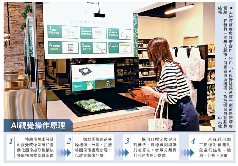 台无人超市 AI辨识商品免扫码