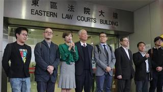 """""""占中""""案押后4月24日判刑 9被告续准保释"""