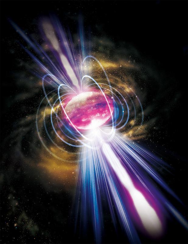 66�|光年外X射�信��C��中���W者13年前猜想\�p中子星合�� �Q生「磁力王」