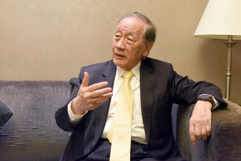 郁慕明:台需要敢讲统一的领导人