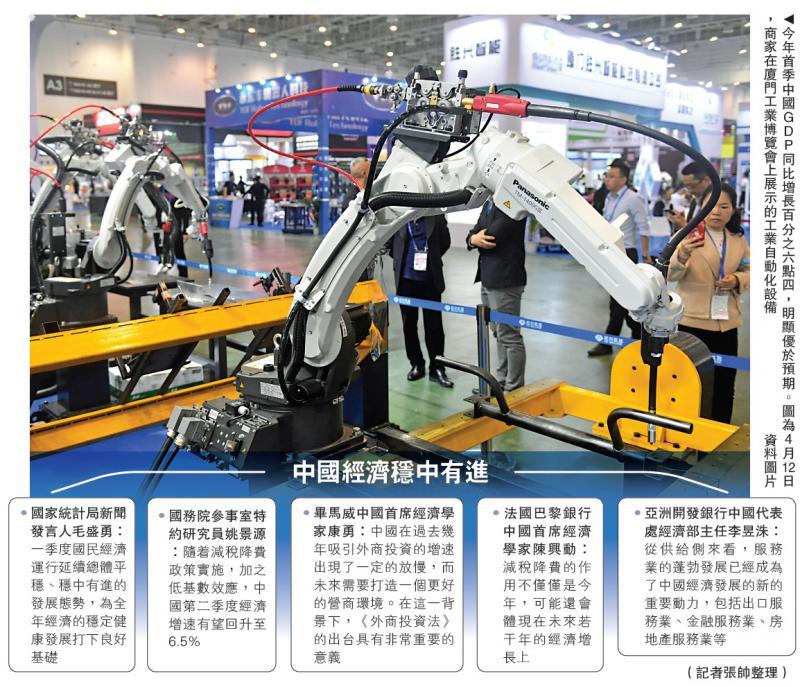 中国经济呈三大积极变化 外贸向好态势愈发明显