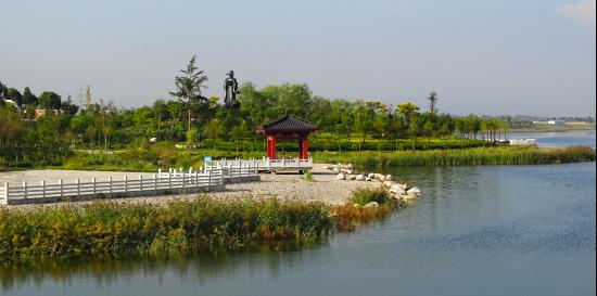 環鹵陽湖自行車賽暨健步走將讓民眾領略鹵陽湖美景