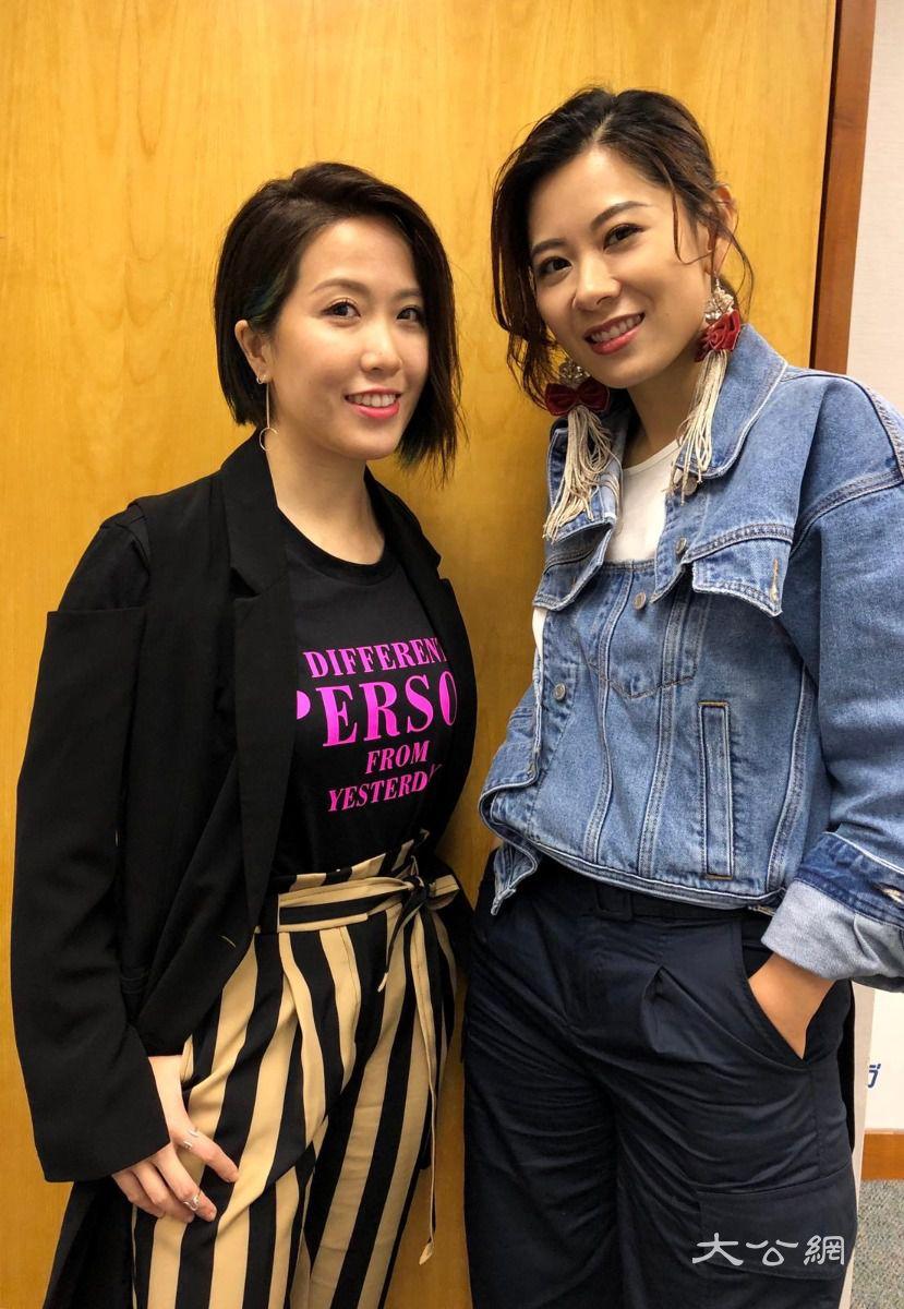 Robynn&kendy出新碟朋友網上發功