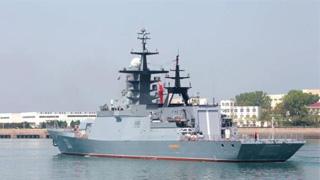 中俄海軍首次聯合進行水面艦艇實射導彈演練