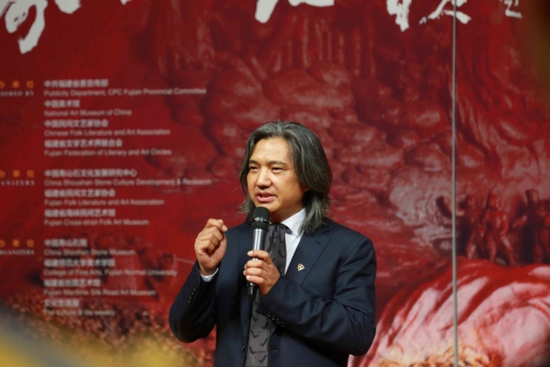 """""""寿山石韵""""艺术大展于中国美术馆盛大开幕"""