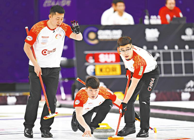 Chinese curling men's team frustrated in Canada - News - Global IC Trade Starts Here. -20190511031810153