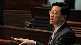 《逃犯条例》修订草案首读 李家超多次被反对派打断发言
