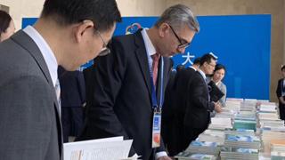 亚洲文明对话大会丨会场特写:习近平以古喻今掌声频频