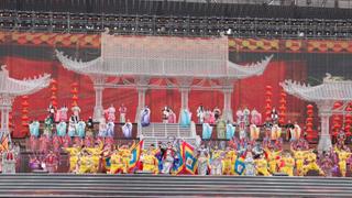 """亚洲文明对话大会丨婺剧登上""""亚洲文化嘉年华""""盛大舞台"""