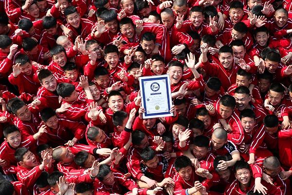 """《少林魂》创""""最大规模的武术节目表演""""世界纪录"""