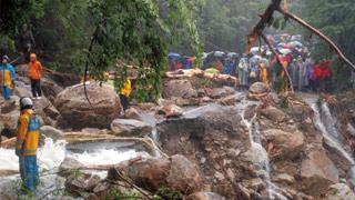 鹿儿岛世纪暴雨 314被困者获救