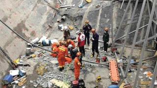 應急管理部:廣西百色樓頂坍塌事故已救出66人