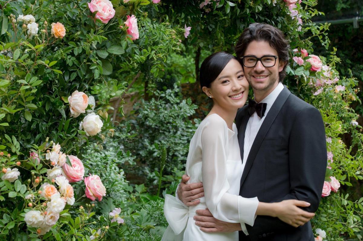 陳法拉再婚下嫁法藉男友 共諧連理
