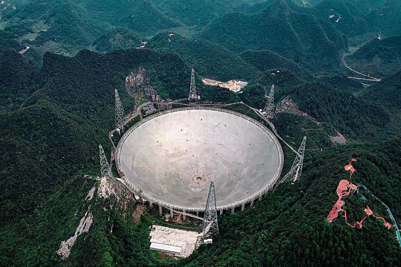 天文科普遊紅火 「中國天眼」夠震撼