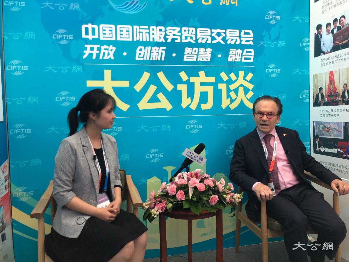 奥中商业协会主席:中国是我第二故乡 让我着迷