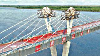 ?中俄首座跨境公路大桥合龙