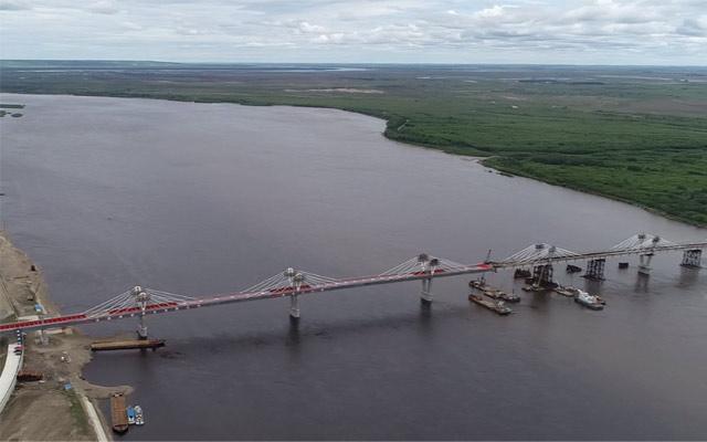 首座中俄合建跨境公路大橋合龍