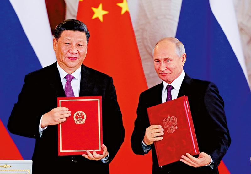 「新�r代中俄全面�鹇�f作夥伴�P�S」�⒑�