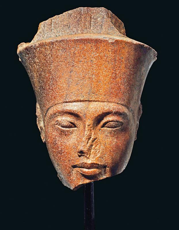 英将拍卖法老雕像 埃及力阻