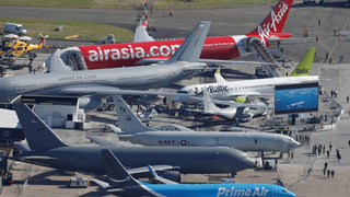 法国航展登场波音首日一无所获 空客颇受欢迎