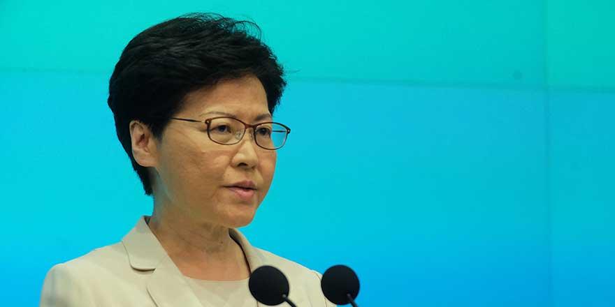 特首就修订《逃犯条例》引社会纷争:向每一位香港市民真诚道歉