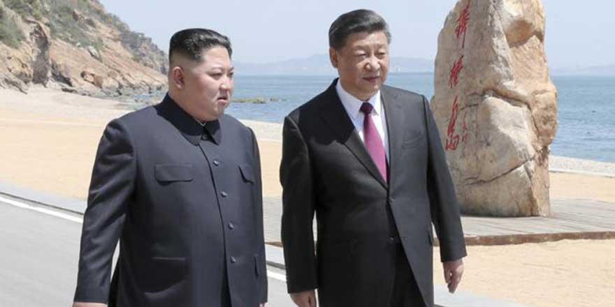 习近平:中朝共同推动半岛问题对话协商 共谋地区长治久安