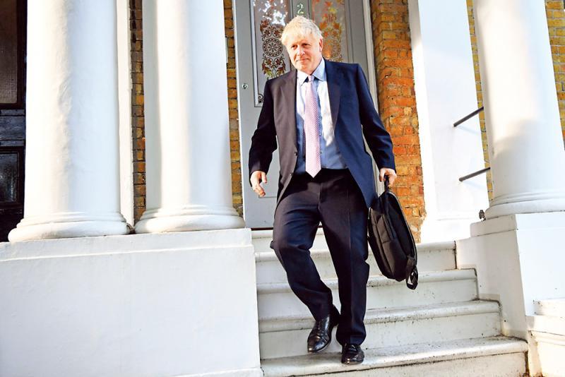 保守党第四轮投票 约翰逊遥遥领先