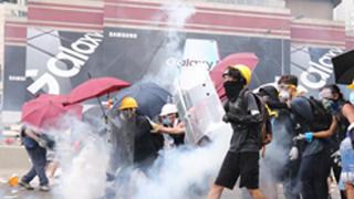 ?示威者冲击警方绝对构成暴动罪 暴力行为挑战法治底线