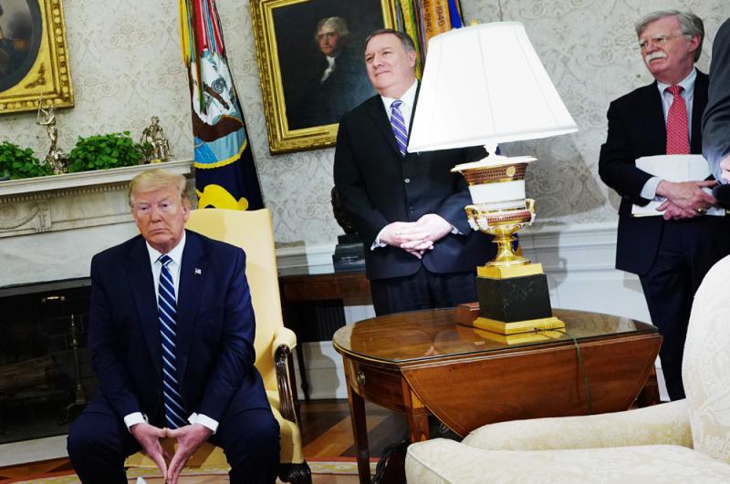 特朗普下令打击伊朗 最后时刻叫停