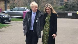 英首相热门候选人约翰逊与女友吵架 惊动邻居报警