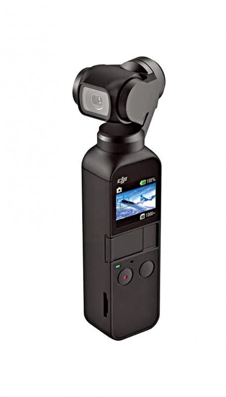 DJI运动相机 新品面世 挑战领先