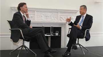 中国驻英大使刘晓明:G20峰会令中美贸易战现转机