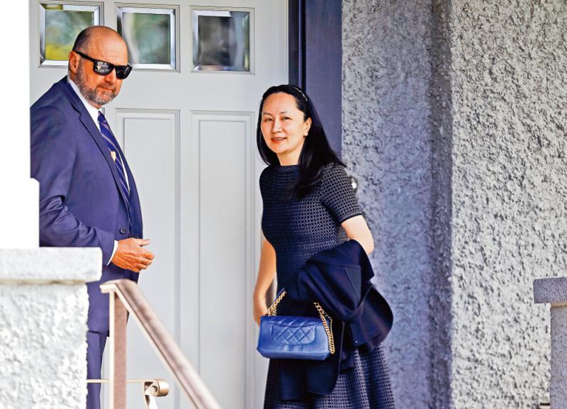 孟晚舟律师发函 籲加国中止引渡