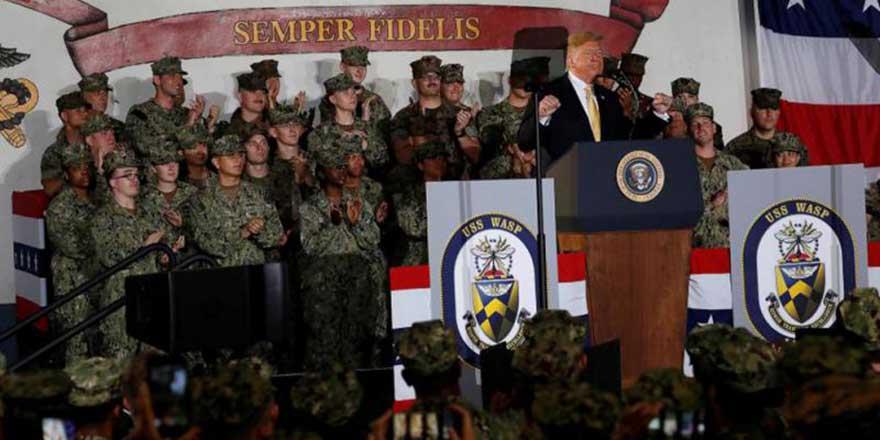 特朗普放风欲退美日安保条约 表面称不公实促日掏钱购军火