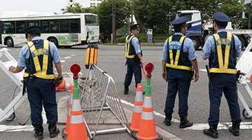 ?日本三萬警力史上最強安保護G20峰會安全 封儲物柜禁垃圾桶