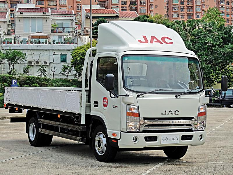 ?JAC轻中型货车平靓取胜