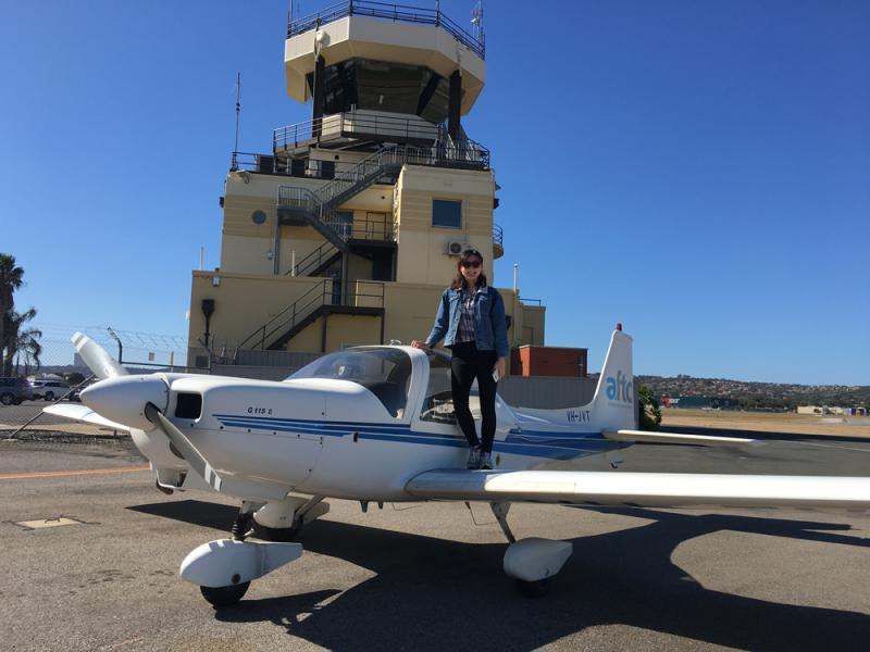?南澳体验飞行\萧蔚然 文、图