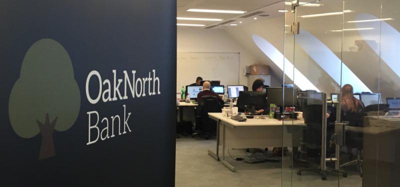 ?OakNorth膺歐洲最具盈利能力網銀