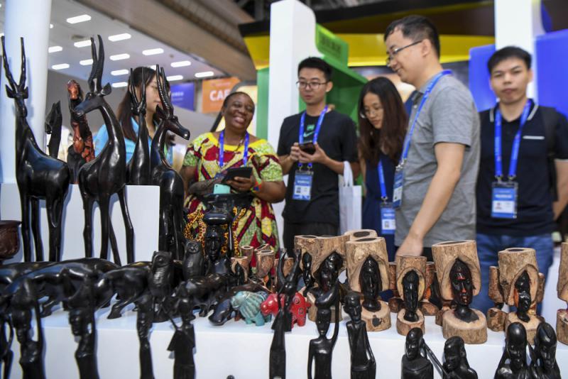 ?非洲53國參展首屆中非博覽會/大公報記者 姚進長沙報道