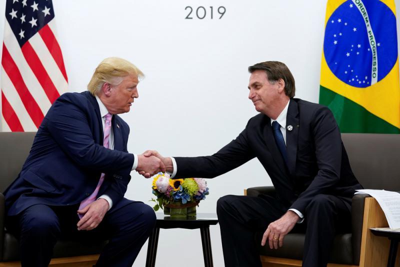 """?美洲南北""""特朗普"""" G20相見甚歡"""