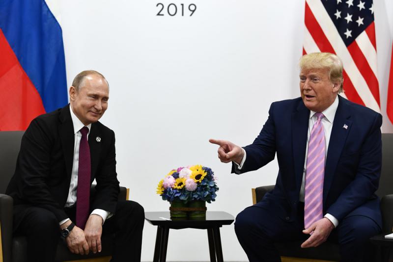 ?特朗普:莫擾大選普京邀明年訪俄