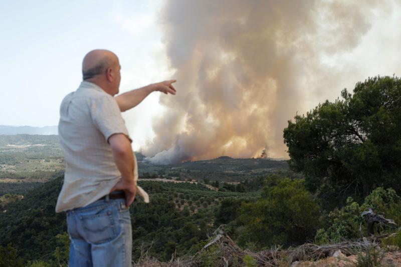 ?西班牙加泰遇廿年最烈山火