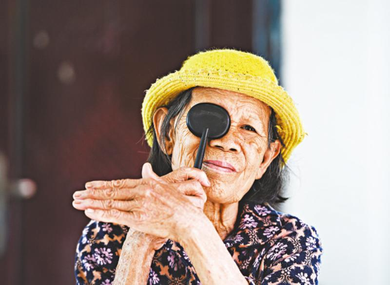?老年:白內障、青光眼、黃斑退化