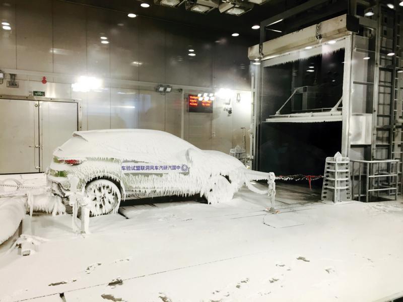"""?中西部首座汽車風洞可""""喚雨下雪"""""""