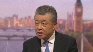 刘晓明:中方坚决反对英方干涉香港内部事务