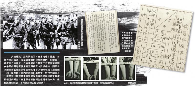 ?日学者发现侵华日军动用化武铁证