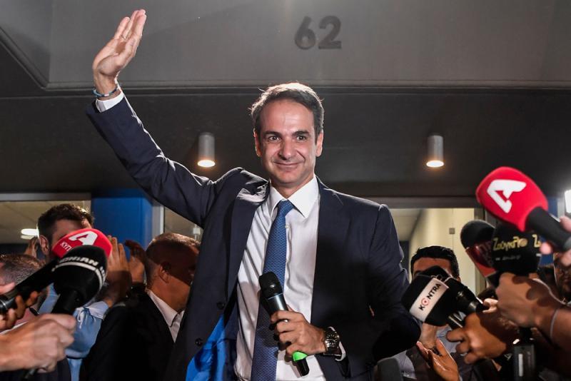 ?希腊变天 左翼民粹政府下台