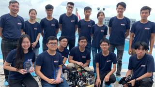 ?力压24劲旅 香港科大水底机械人国际赛夺冠